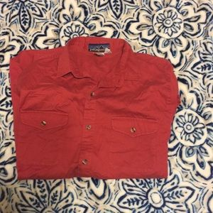 Old school Patagonia long sleeve button up